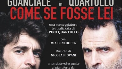 "Photo of PINO QUARTULLO, IN OTTIMA COMPAGNIA, METTE IN SCENA ""COME SE FOSSE LEI"""