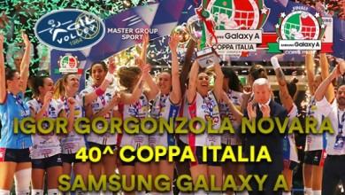 """Photo of Volleyball Femminile – Novara e S.G. Marignano """"regine di coppe"""""""