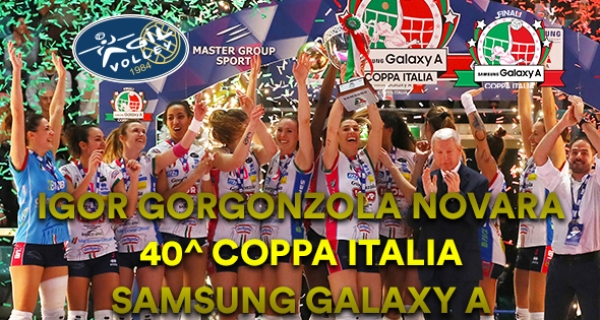 "Photo of Volleyball Femminile – Novara e S.G. Marignano ""regine di coppe"""