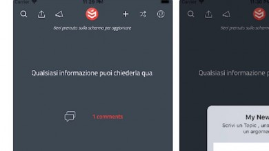 Photo of My News & Topics . Al lancio per iOS la nuova applicazione Targata facecjoc
