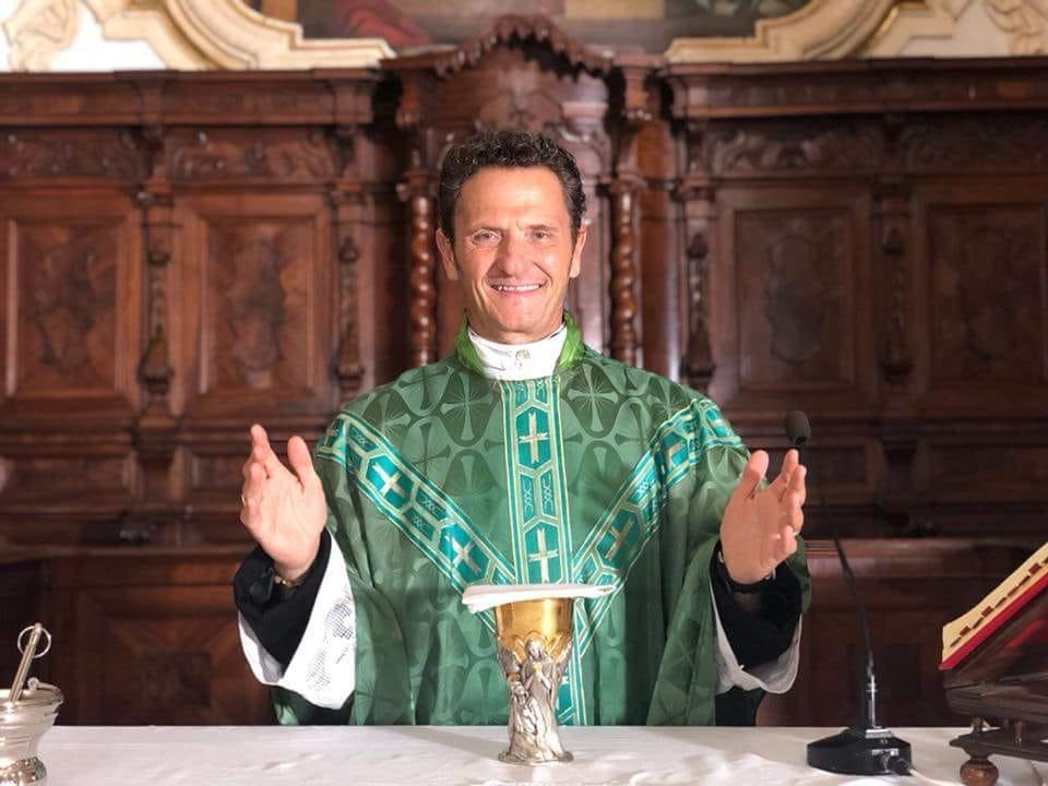 """Photo of Enzo Salvi e Maurizio Battista nel nuovo film """"Din Don"""""""