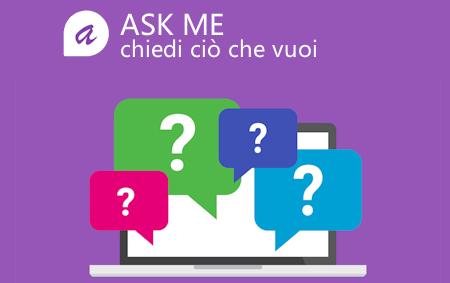 """Photo of E' online ASK ME , l'applicazione di domande e risposte anche in formato """"Anonimo"""""""