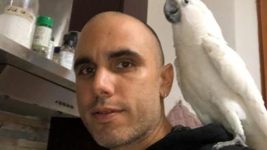 """Photo of Dario Loreti ed i suoi pappagalli : allevare è """"Inno alla Vita"""""""