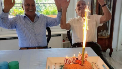 Photo of Auguri ai Gemelli Franco e Federico : 180 anni in due